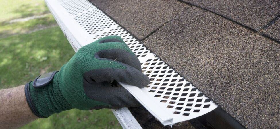 Armour Contracting can install gutters and protective gutter coverings